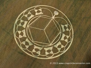 (c) Crop Circle Connector